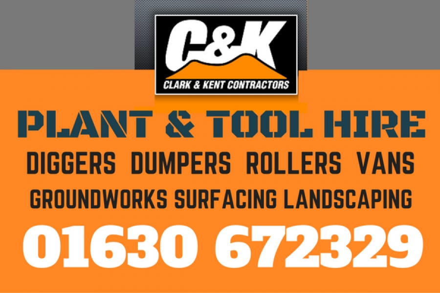 CK Advert plant tool hire
